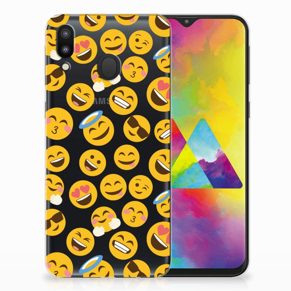 Samsung Galaxy M20 (Power) TPU bumper Emoji