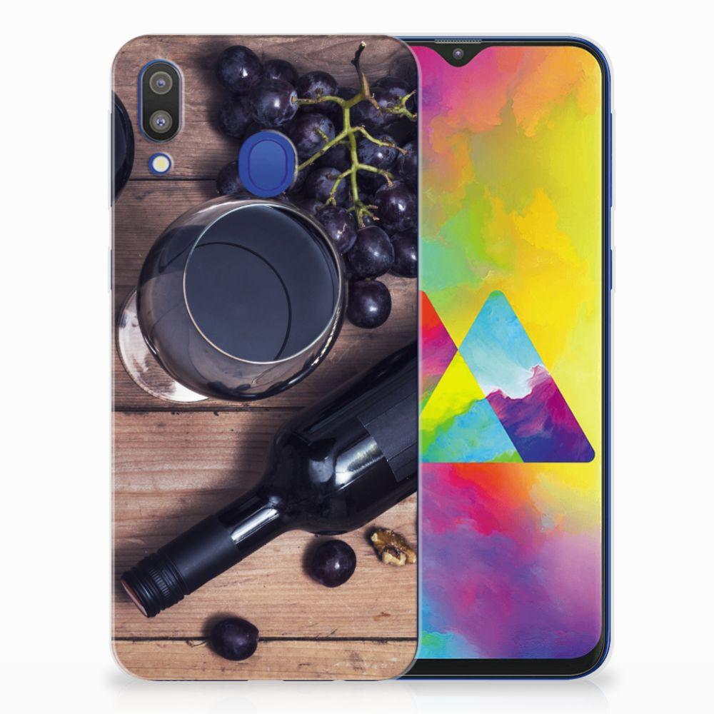 Samsung Galaxy M20 (Power) Siliconen Case Wijn