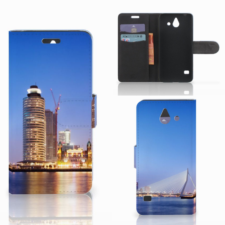Huawei Ascend Y550 Flip Cover Rotterdam
