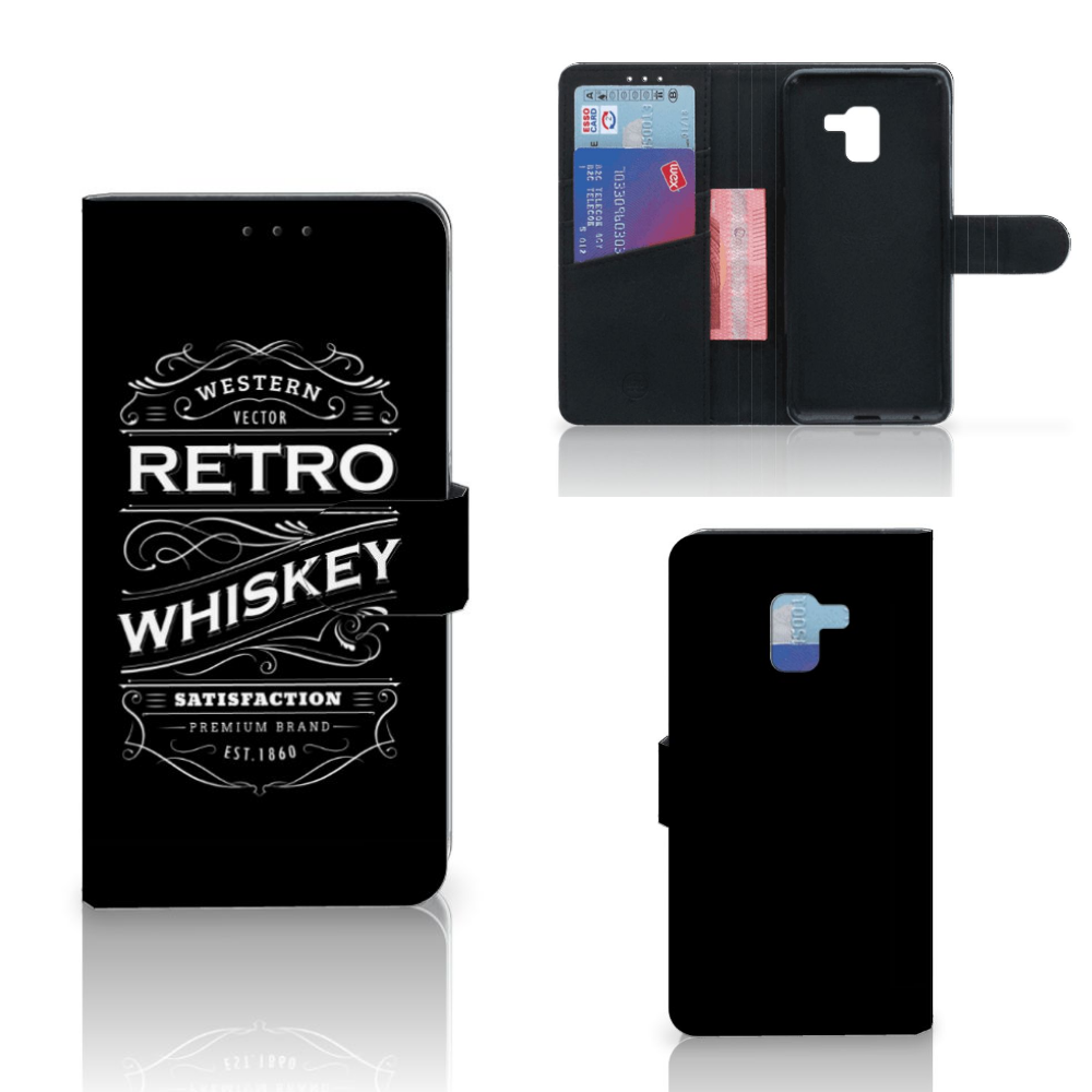 Samsung Galaxy A8 Plus (2018) Book Cover Whiskey