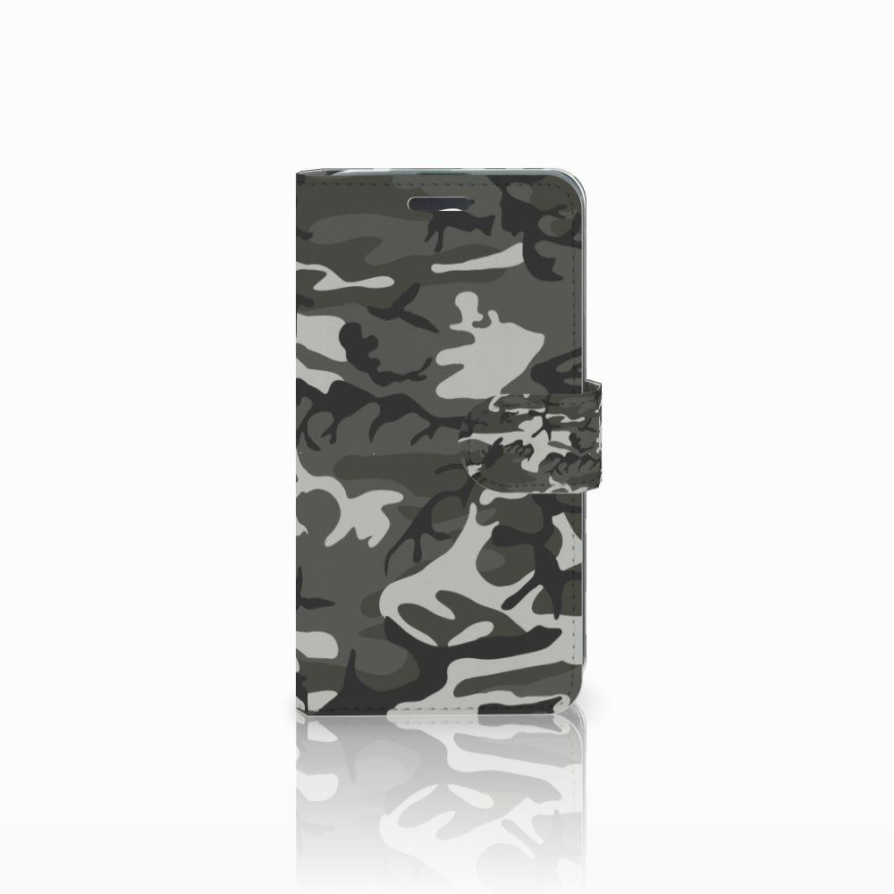 Acer Liquid Z520 Uniek Boekhoesje Army Light