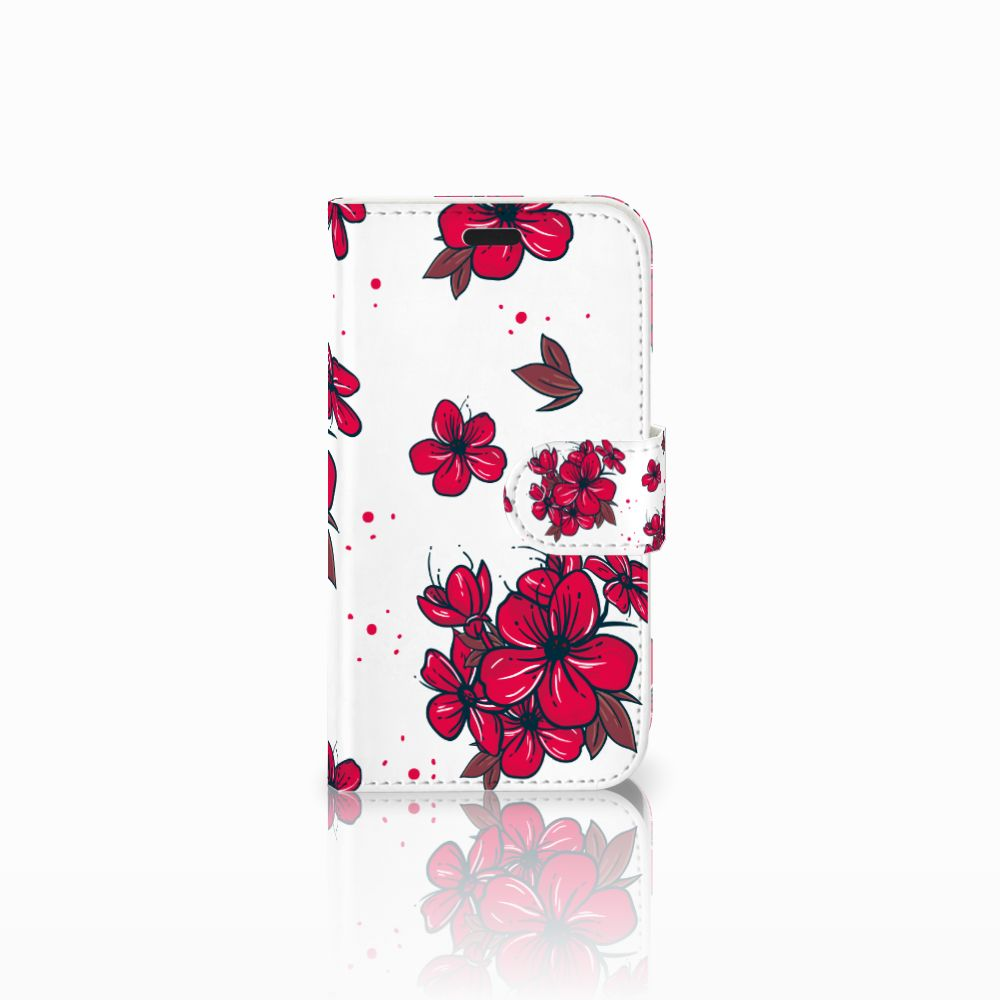 LG L Fino Boekhoesje Design Blossom Red