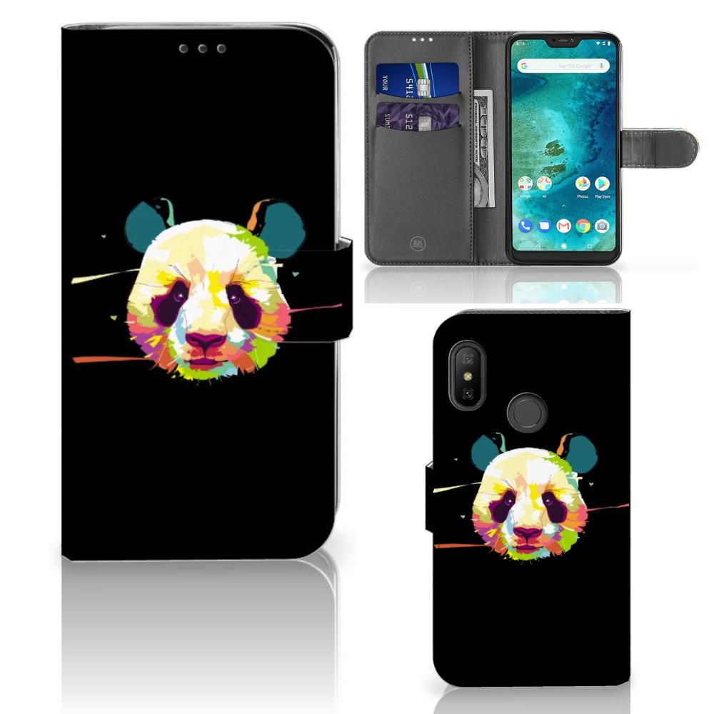 Xiaomi Mi A2 Lite Leuk Hoesje Panda Color