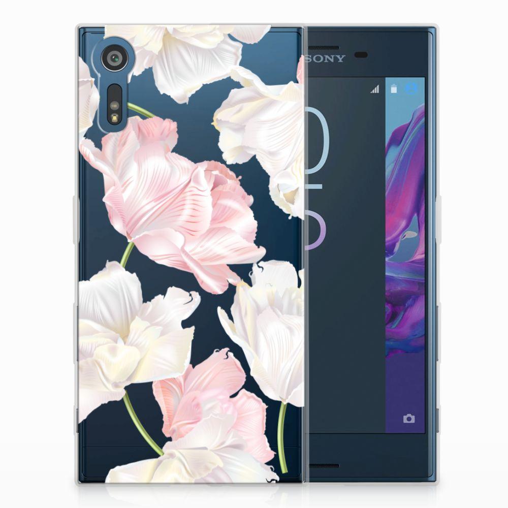 Sony Xperia XZs | XZ TPU Hoesje Design Lovely Flowers