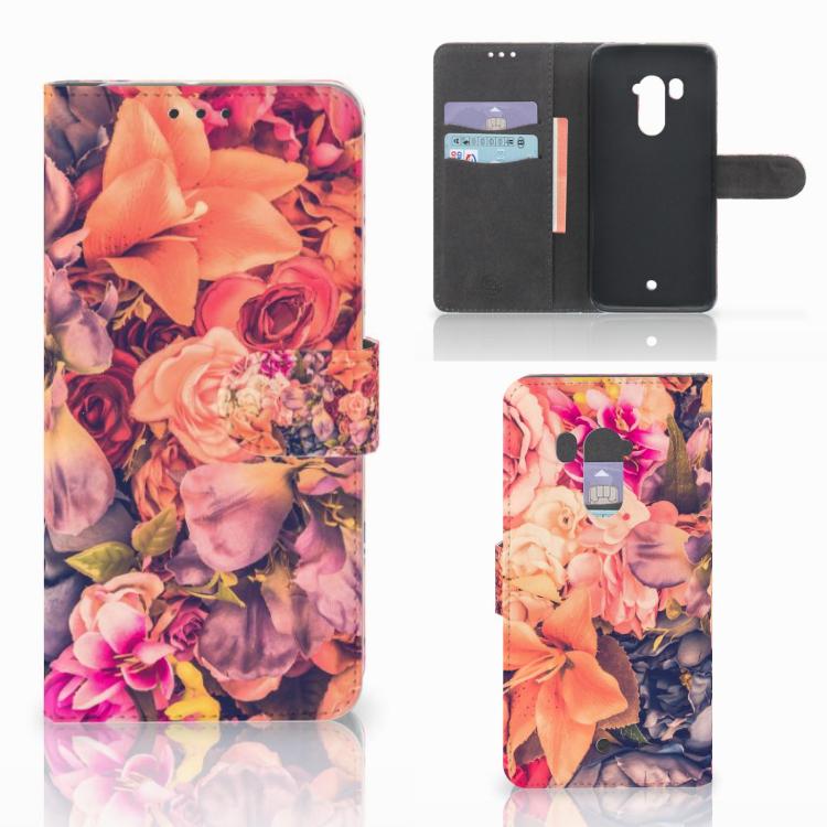 HTC U11 Plus Hoesje Bosje Bloemen