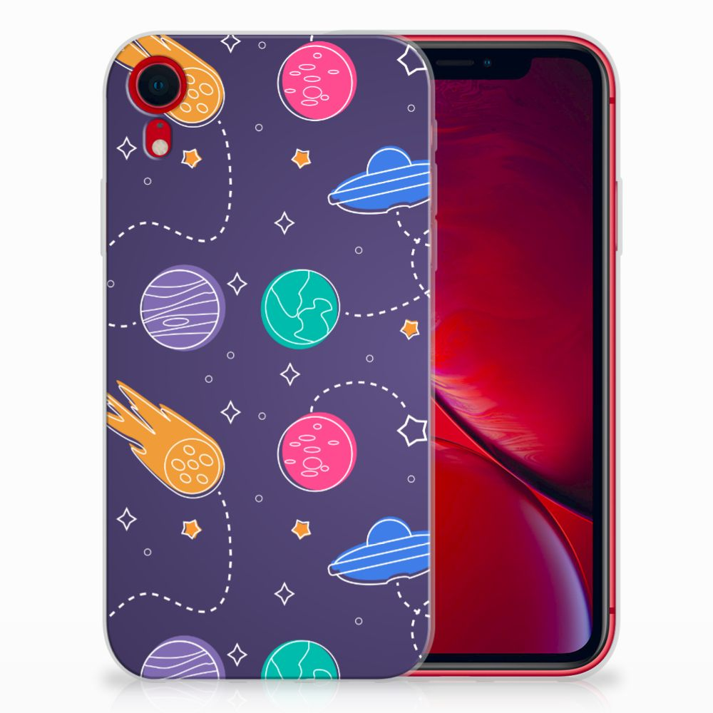 Apple iPhone Xr Silicone Back Cover Space
