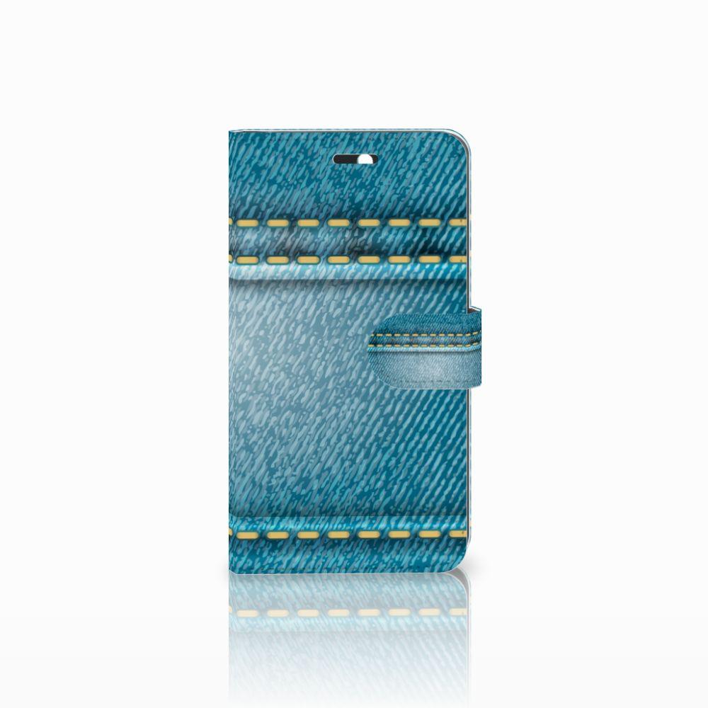 Huawei Y6 II | Honor 5A Boekhoesje Design Jeans