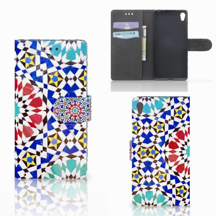 Sony Xperia E5 Bookcase Mozaïek