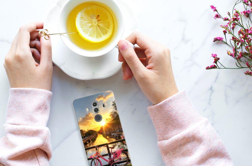 Huawei Mate 10 Pro Uniek TPU Hoesje Amsterdamse Grachten
