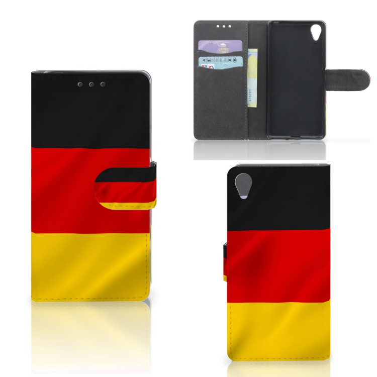 Sony Xperia X Bookstyle Case Duitsland