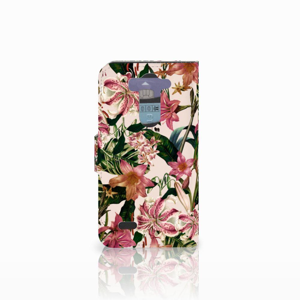 LG G3 S Hoesje Flowers