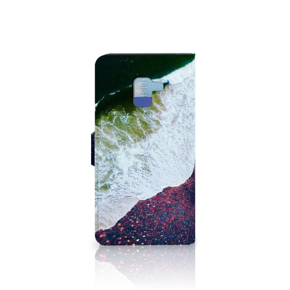 Samsung Galaxy A8 Plus (2018) Bookcase Sea in Space