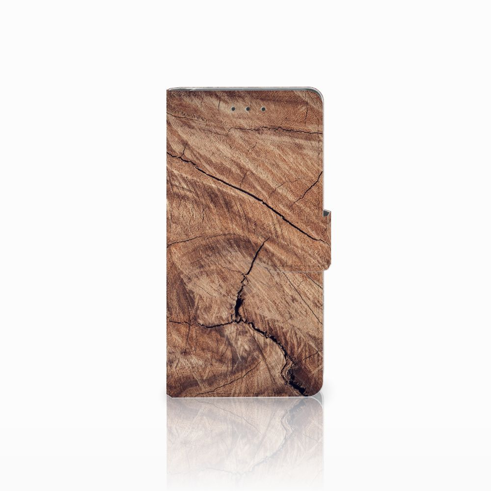 Samsung Galaxy Grand Prime   Grand Prime VE G531F Boekhoesje Design Tree Trunk