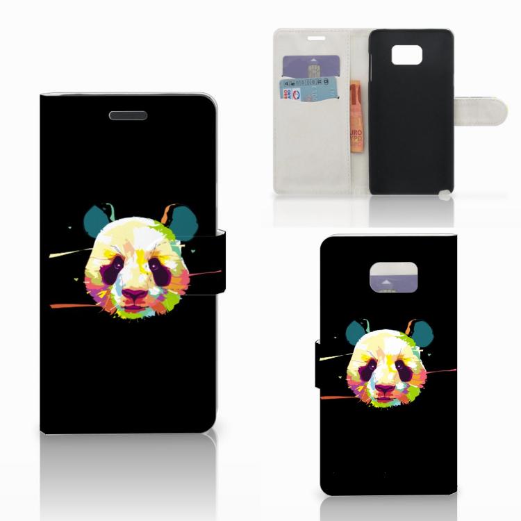 Samsung Galaxy Note 5 Leuke Hoesje Panda Color