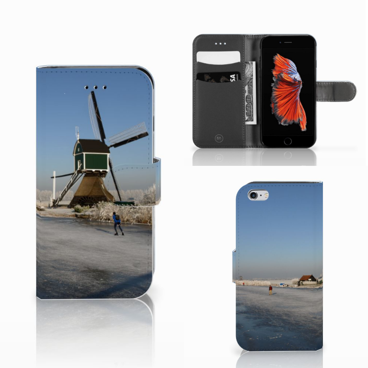 Apple iPhone 6 | 6s Flip Cover Schaatsers