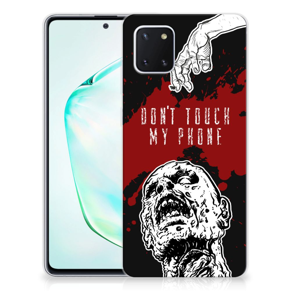 Samsung Galaxy Note 10 Lite Silicone-hoesje Zombie Blood