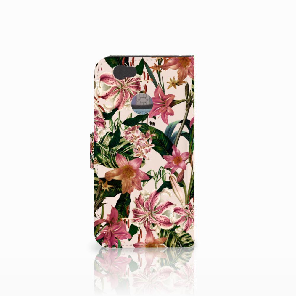 Huawei Nova Hoesje Flowers
