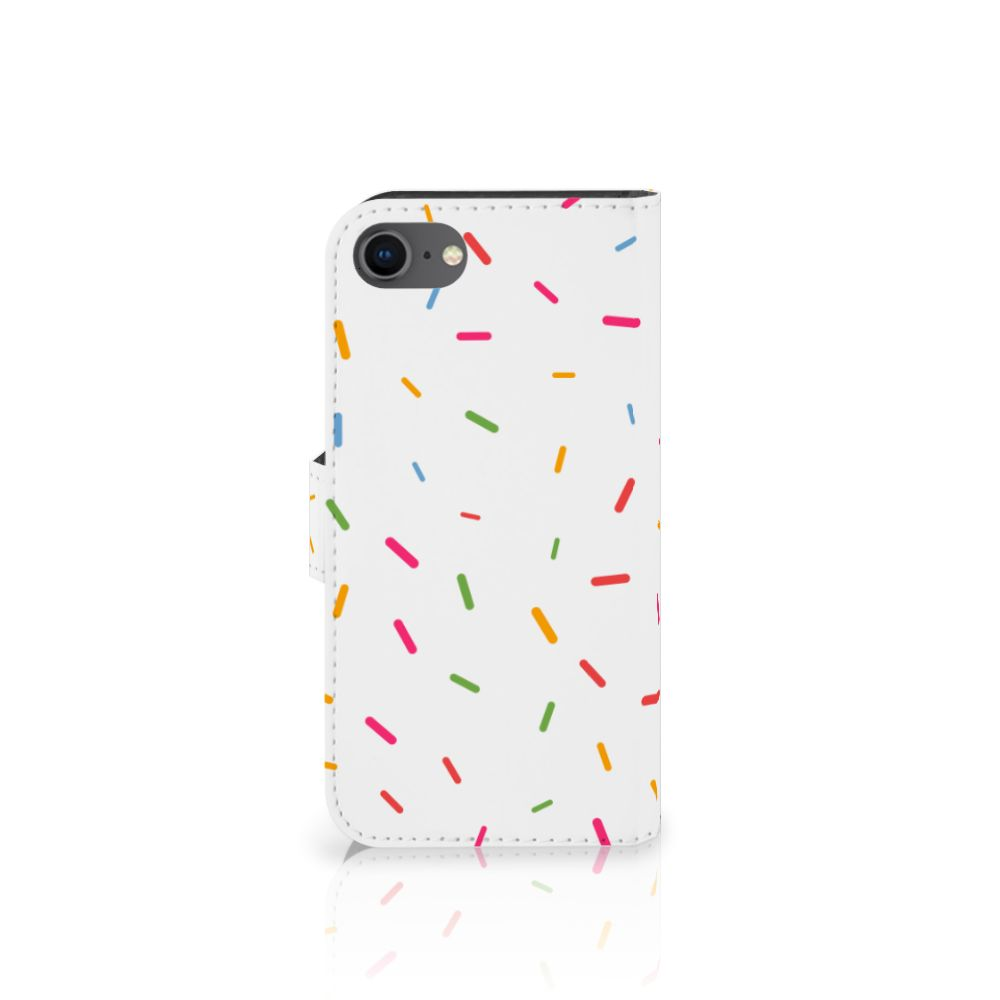 iPhone 7 | 8 | SE (2020) Book Cover Donut Roze