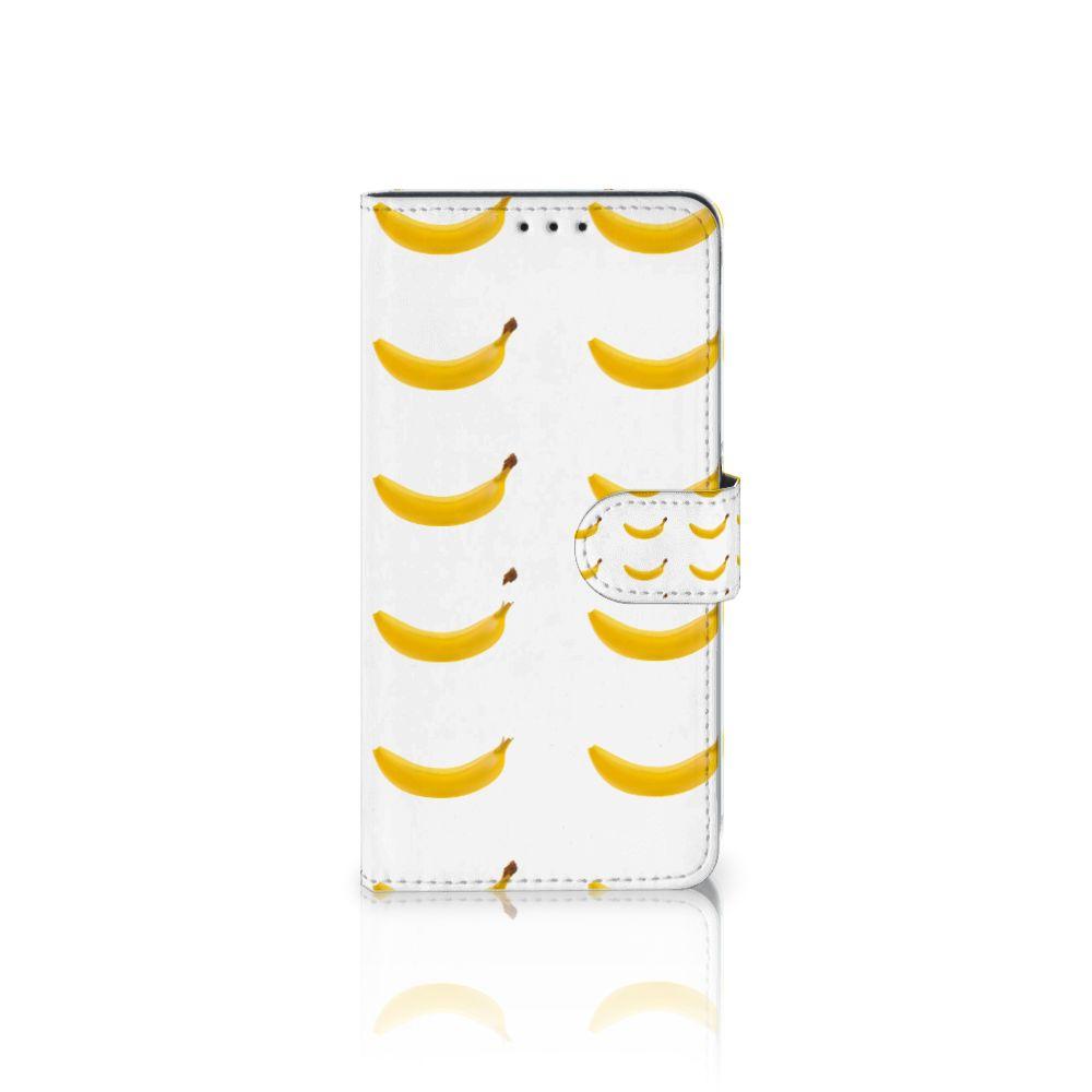 Samsung Galaxy A8 Plus (2018) Uniek Boekhoesje Banana