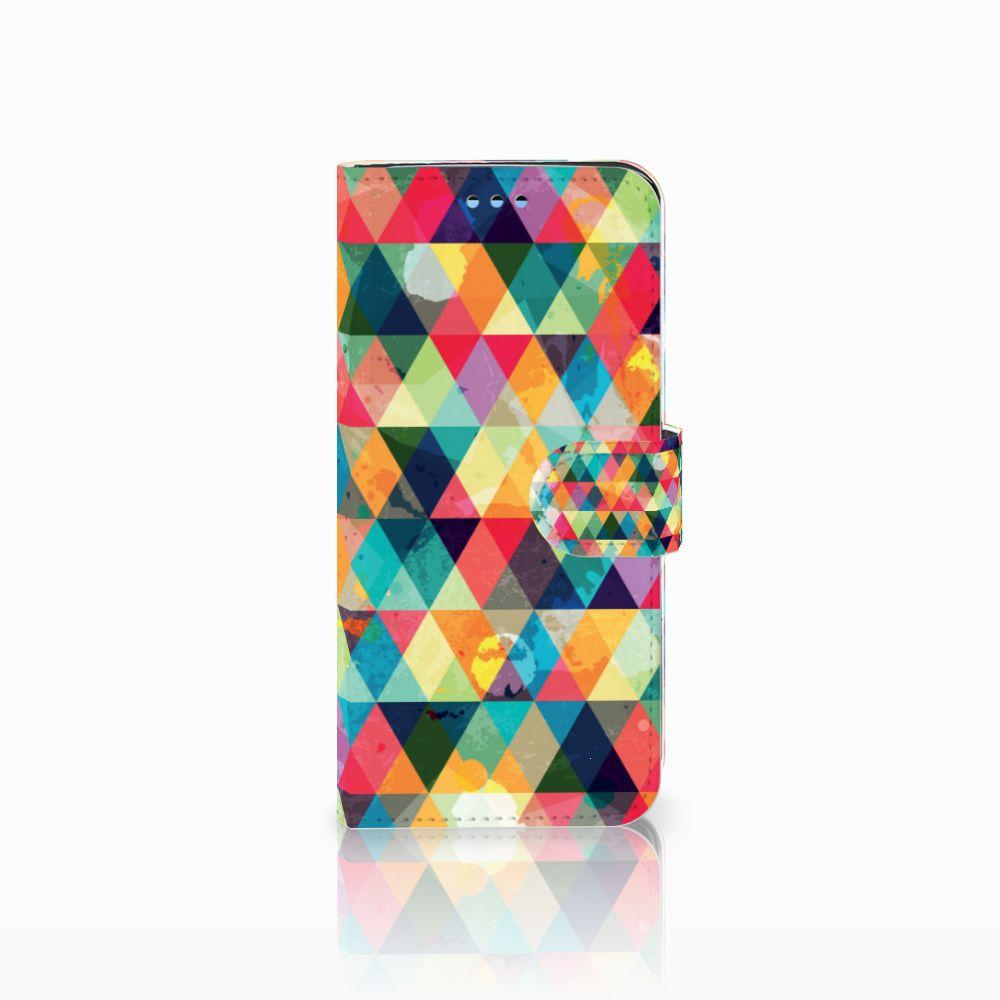 Samsung Galaxy S9 Uniek Boekhoesje Geruit