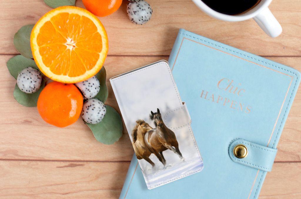 Google Pixel Telefoonhoesje met Pasjes Paarden