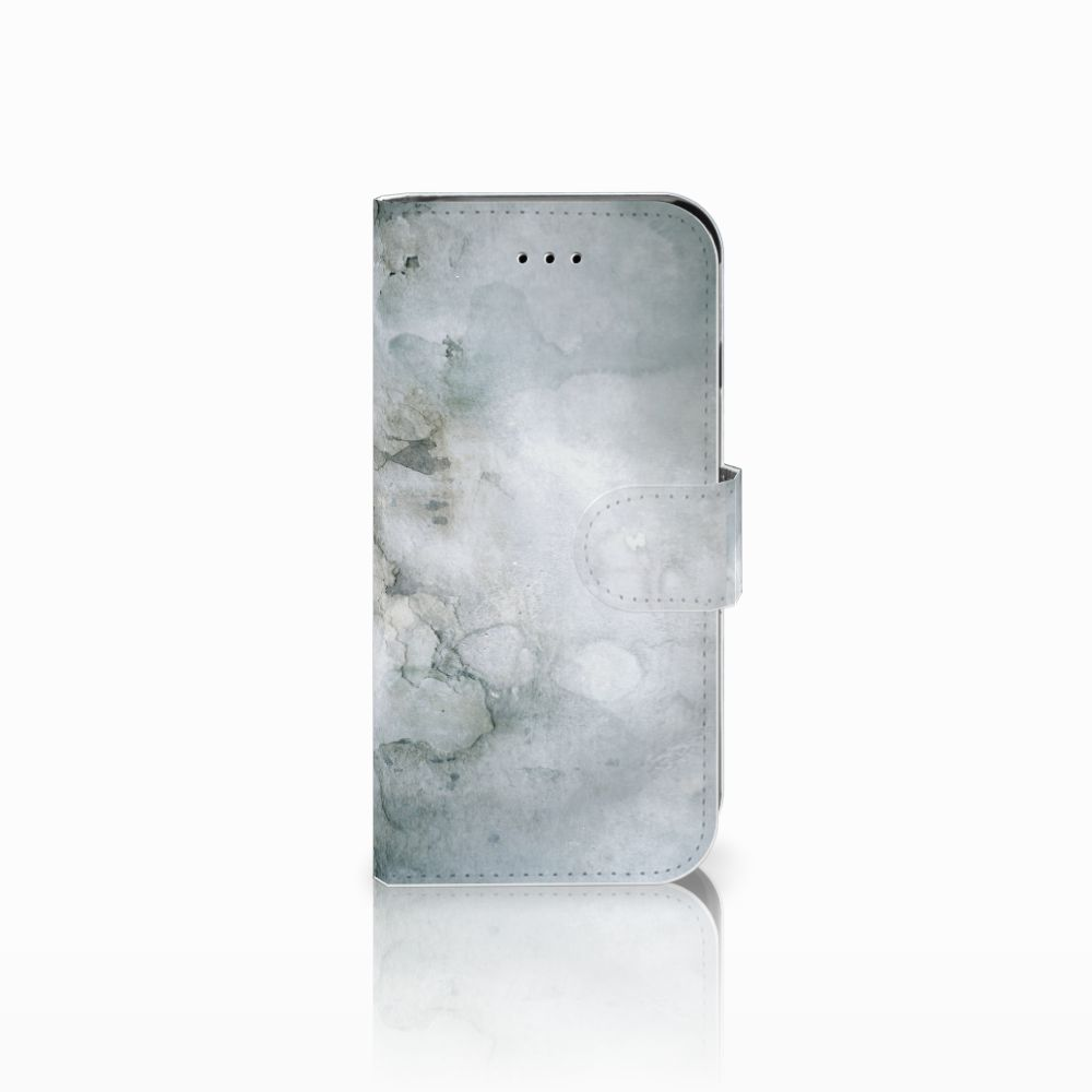 Apple iPhone 6 | 6s Uniek Boekhoesje Painting Grey