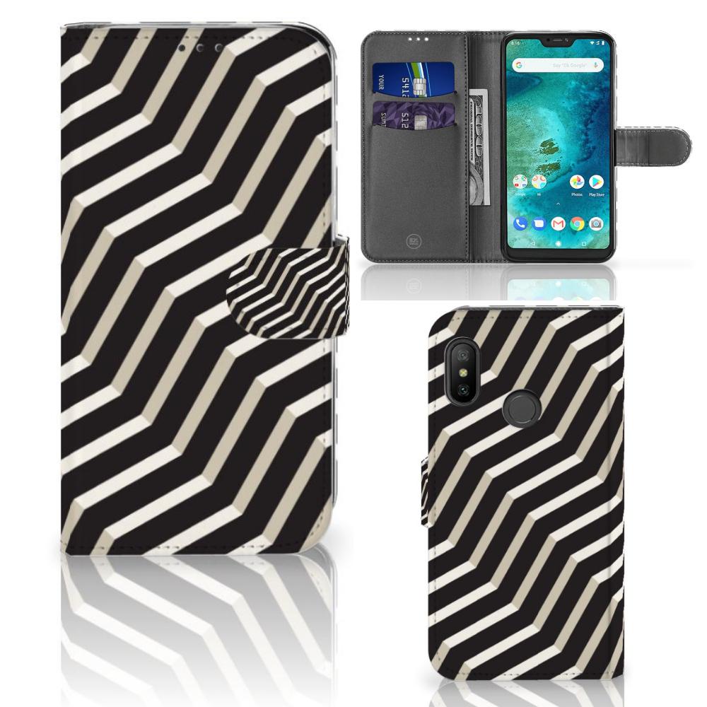Xiaomi Mi A2 Lite Bookcase Illusion