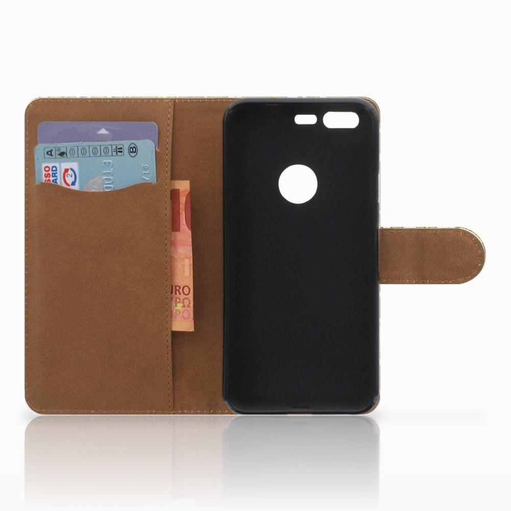 Wallet Case Google Pixel Barok Goud