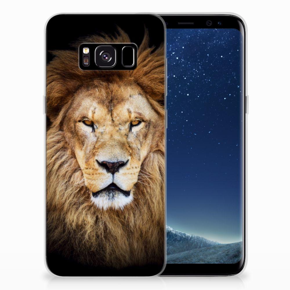 Samsung Galaxy S8 TPU Hoesje Leeuw