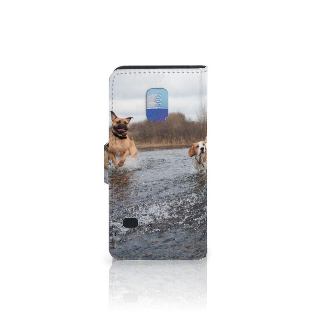 Samsung Galaxy S5 Mini Telefoonhoesje met Pasjes Honden Labrador