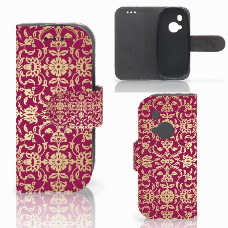 Wallet Case Nokia 3310 (2017) Barok Pink