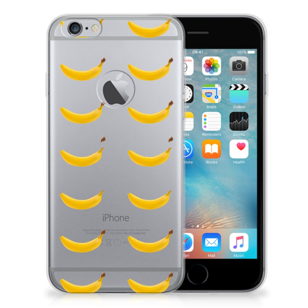 Apple iPhone 6 Plus   6s Plus Siliconen Case Banana