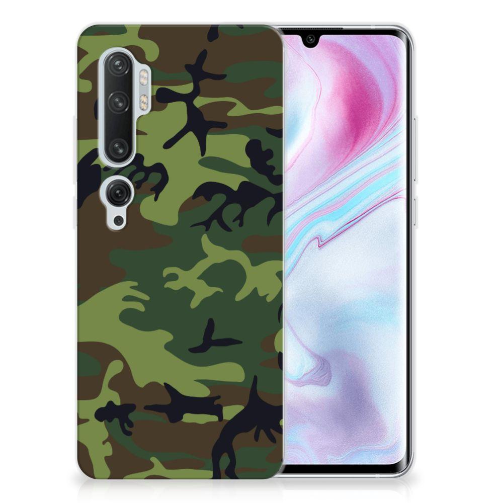 Xiaomi Mi Note 10 Pro TPU bumper Army Dark
