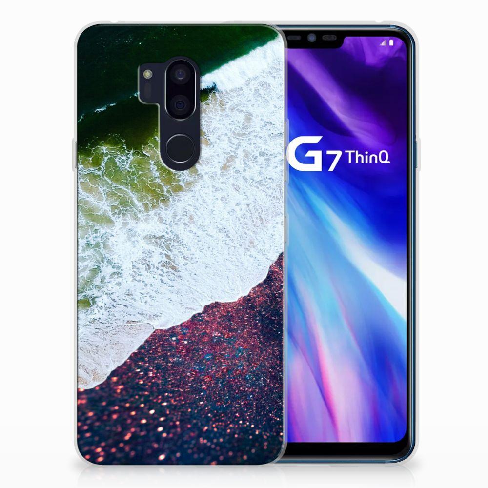 LG G7 Thinq TPU Hoesje Sea in Space