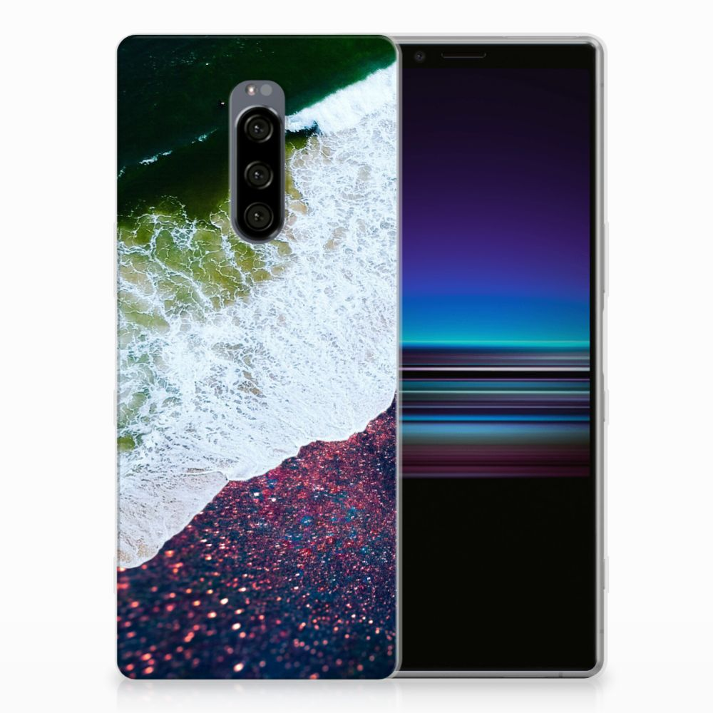 Sony Xperia 1 TPU Hoesje Sea in Space