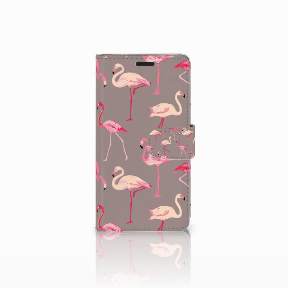 LG G3 Uniek Boekhoesje Flamingo