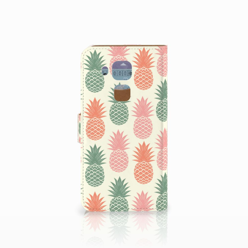 Huawei Nova Plus Book Cover Ananas