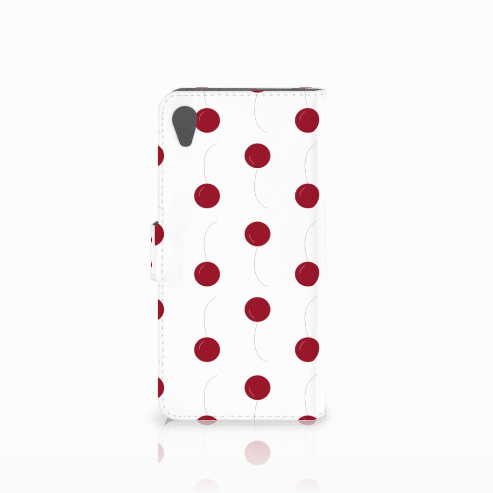 Sony Xperia Z5 Premium Book Cover Cherries