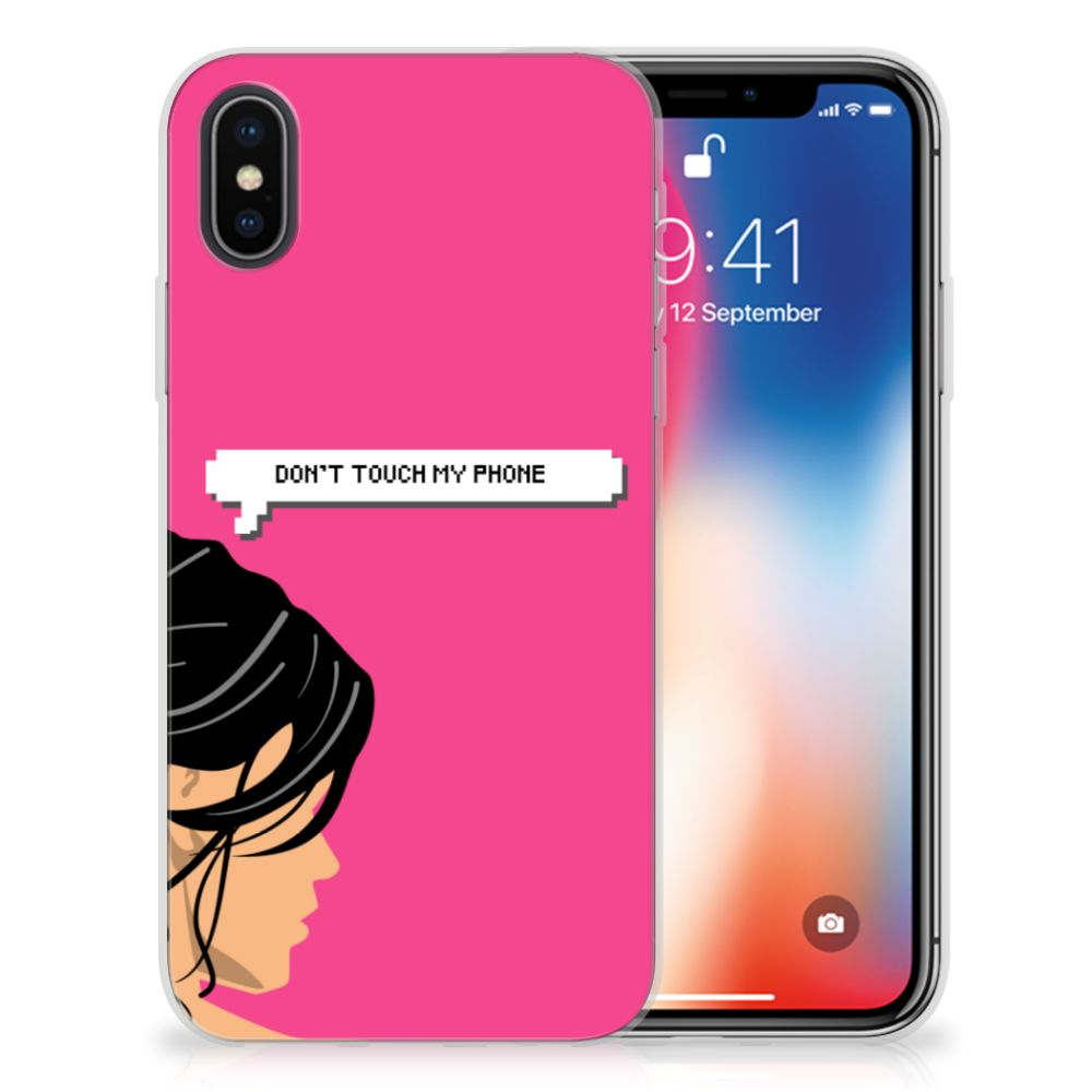 Apple iPhone X | Xs Silicone-hoesje Woman DTMP