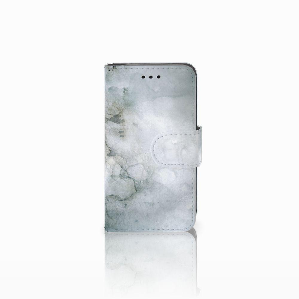 Samsung Galaxy Trend 2 Uniek Boekhoesje Painting Grey
