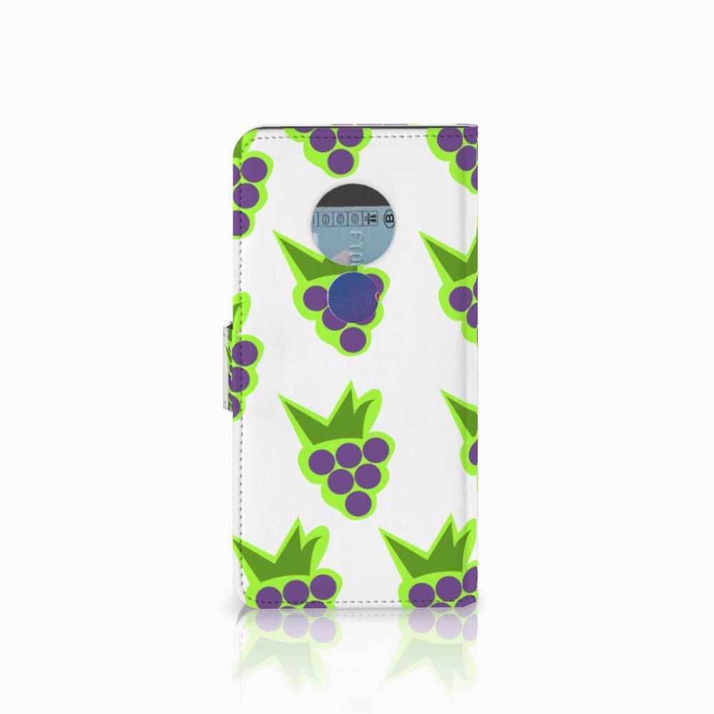 Motorola Moto E5 Book Cover Druiven
