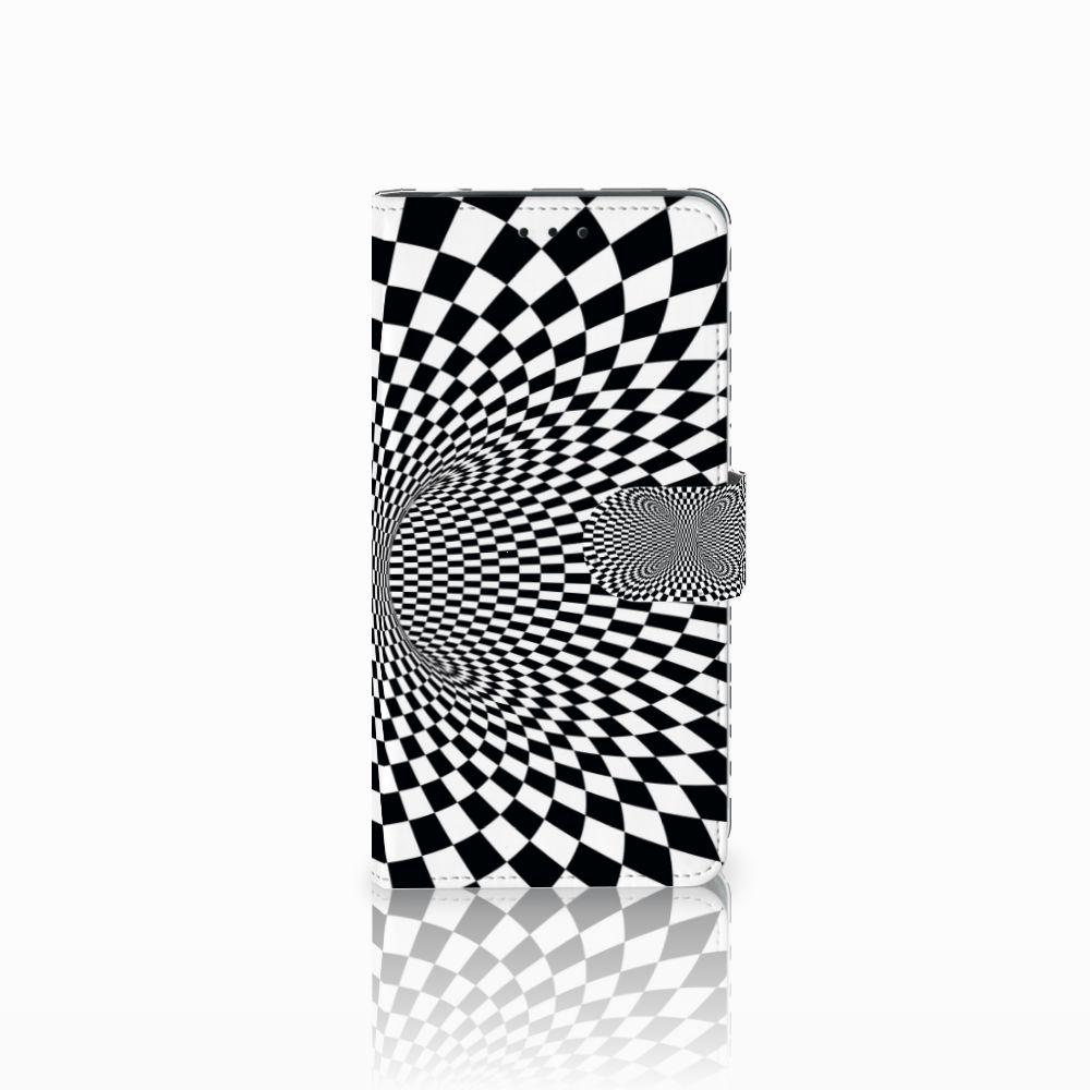 Samsung Galaxy J6 Plus (2018) Boekhoesje Design Illusie