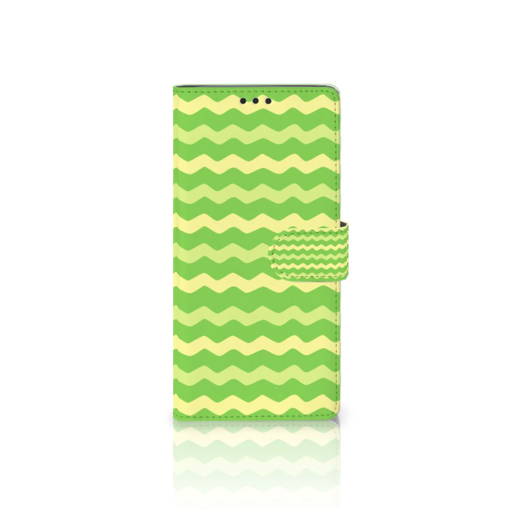 Sony Xperia XA Ultra Boekhoesje Design Waves Green