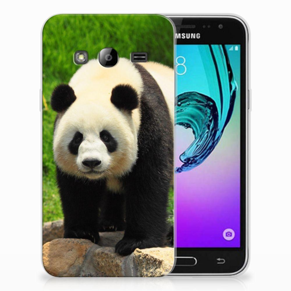Samsung Galaxy J3 2016 TPU Hoesje Panda