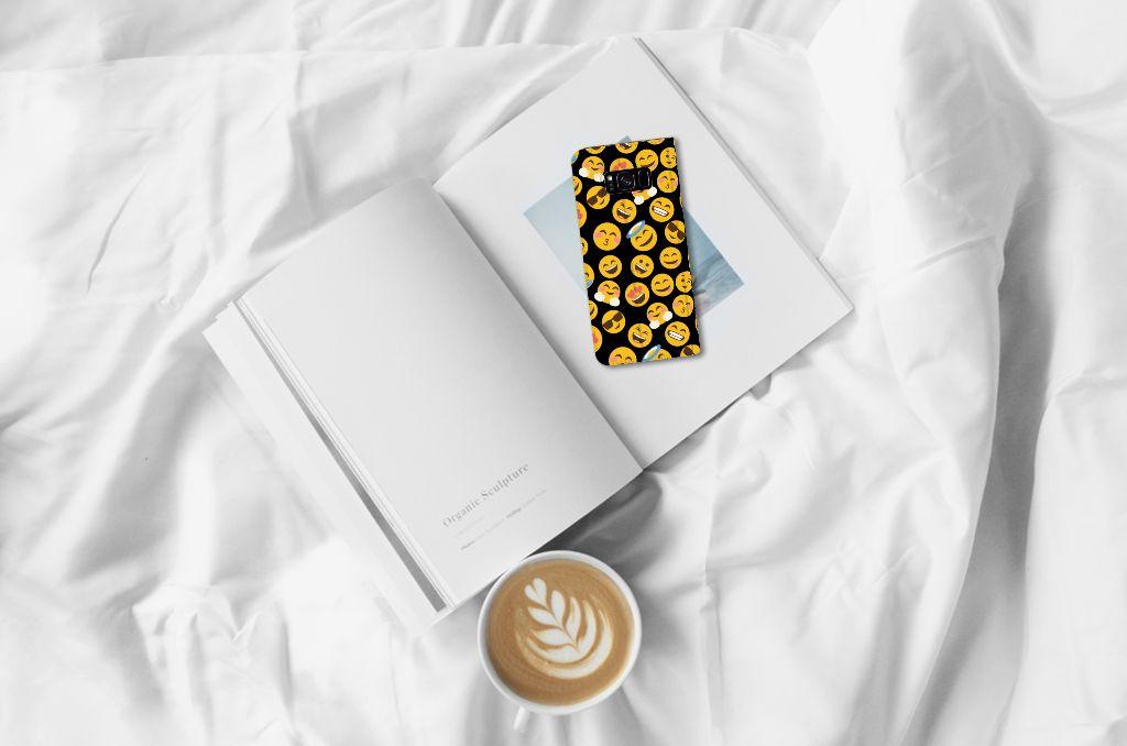 Samsung Galaxy S8 Plus Hoesje met Magneet Emoji