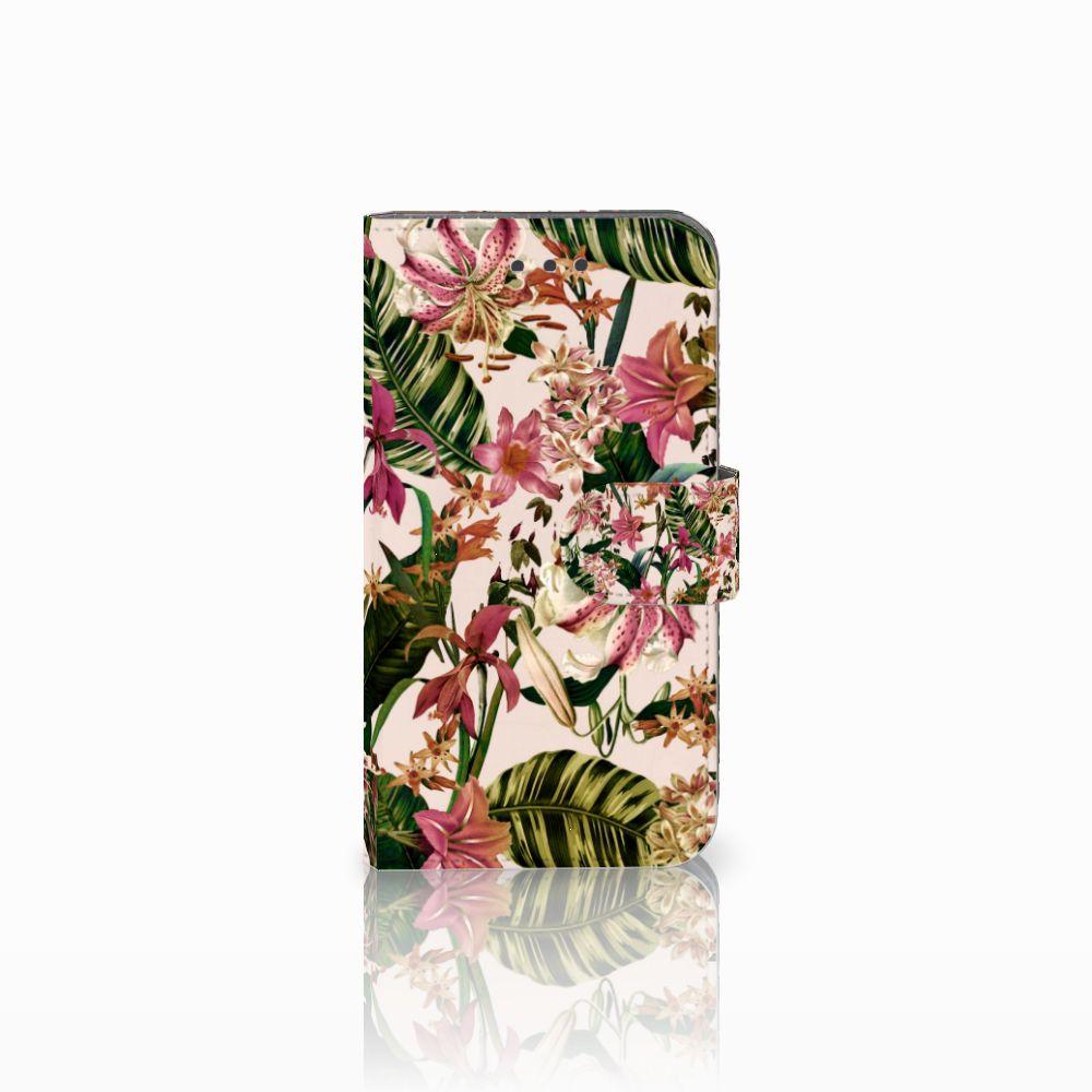 Samsung Galaxy Xcover 3 | Xcover 3 VE Uniek Boekhoesje Flowers