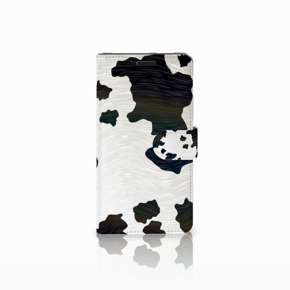 Sony Xperia T3 Boekhoesje Design Koeienvlekken