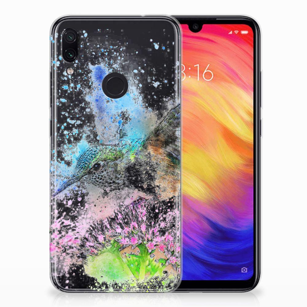 Hoesje maken Xiaomi Redmi Note 7 Vogel