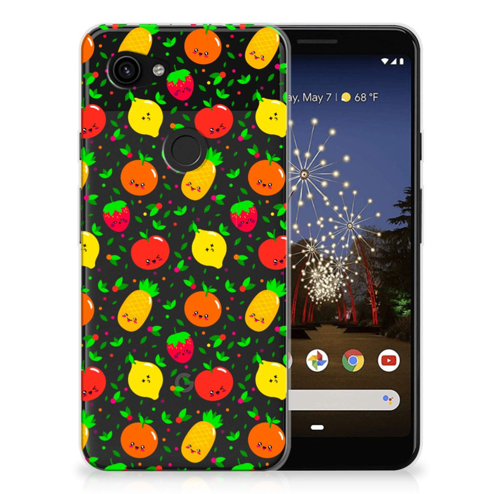 Google Pixel 3A Siliconen Case Fruits