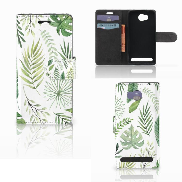 Huawei Y3 2 | Y3 II Hoesje Leaves
